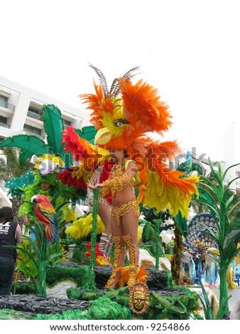 Brazilian Carnival - stock photo