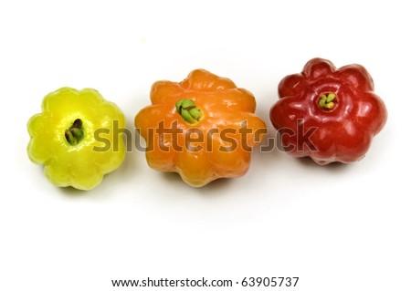 Brazilian Cherry - Pitanga - stock photo