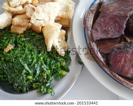 Brazilian food - stock photo
