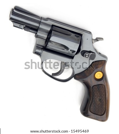 Brazilian gun isolated on white background - stock photo