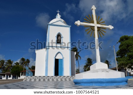 Brazilian historic church