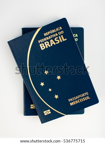 Passport stock images royalty free images vectors shutterstock brazilian passports new model 2016 ccuart Choice Image