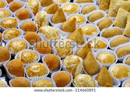 Brazilian snack - stock photo