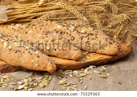 bread and cereal seeds
