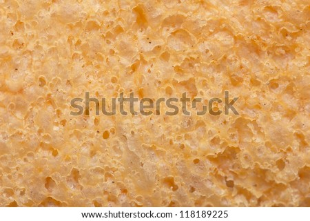 bread as background. macro