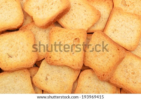 bread biscuit background - stock photo