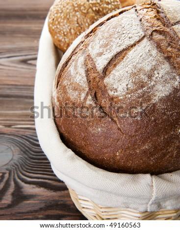 Bread closeup - stock photo