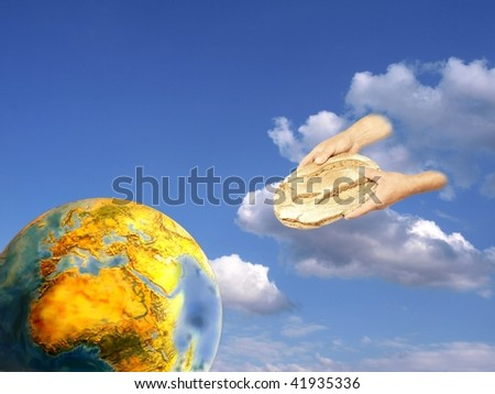 Bread for the World - stock photo