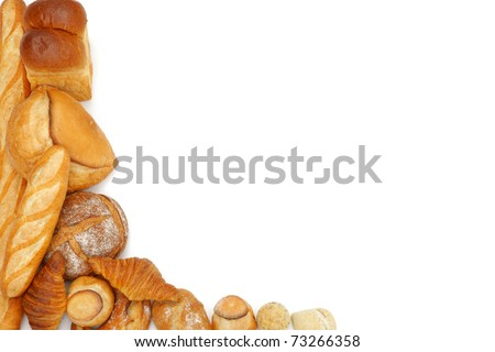 bread frame - stock photo