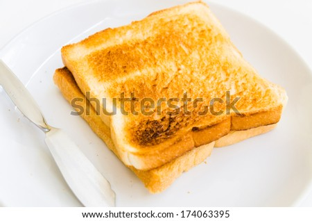 Bread grilled