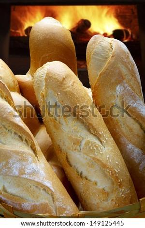 Bread oven - stock photo