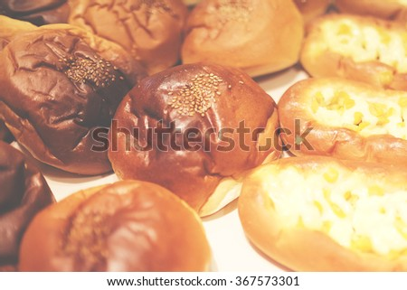 bread pantone style - stock photo