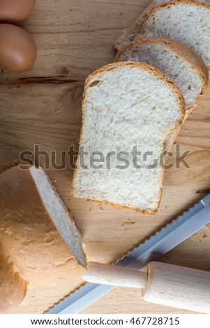 Bread Rolling pin  egg
