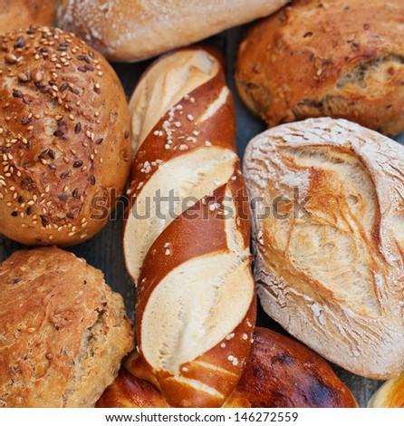 Bread Rolls - stock photo