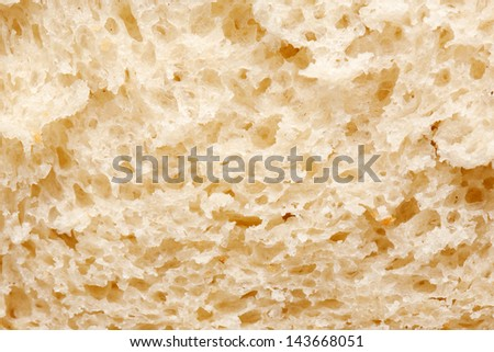 Bread slice. Macro. Food background or texture
