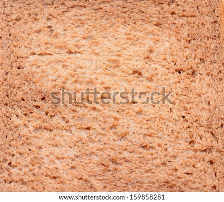 Bread slice, may use as background - stock photo