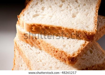 bread slices - stock photo