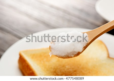 bread with coconut oil