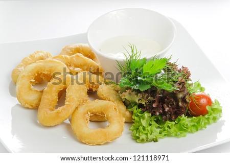 how to make deep fried calamari