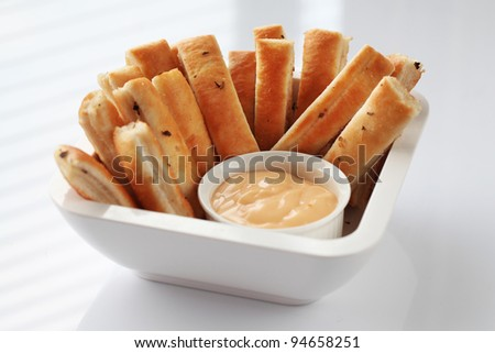 Breadsticks - stock photo