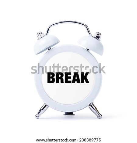 how to break a clock