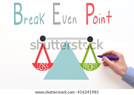 Break Even Point Stock Images, Royalty-Free Images & Vectors