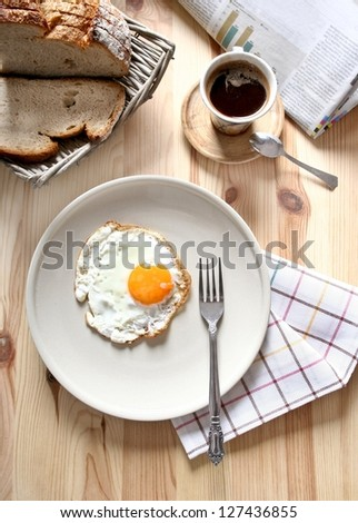 Breakfast - stock photo