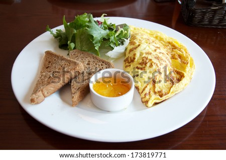 Breakfast Omelet - stock photo