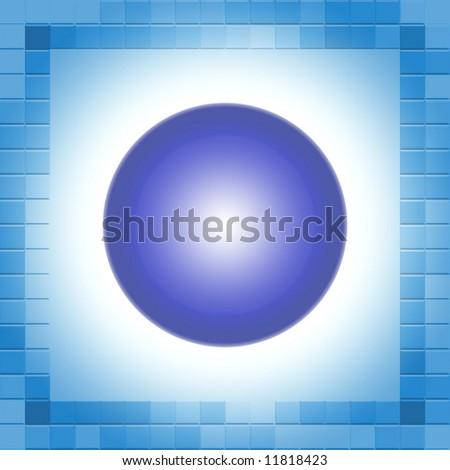 Breaking Ball - stock photo