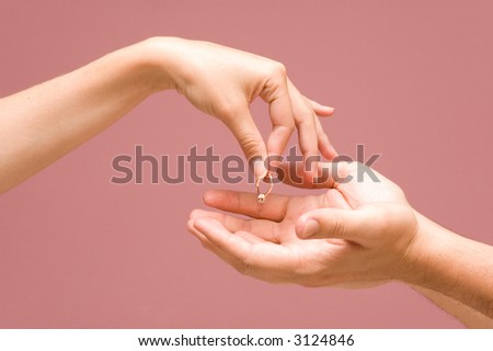 breaking up the engagement + PATH - stock photo