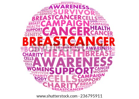 Breast Cancer Awareness Campaign  - stock photo