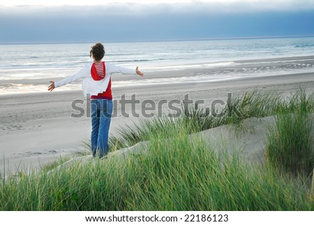 Breathe - stock photo