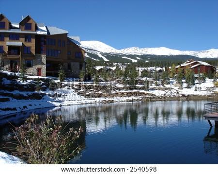 Breckenridge, Colorado - stock photo