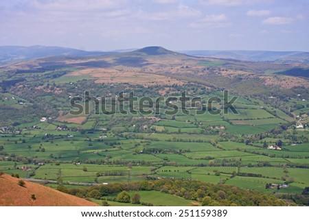 Brecon Beacons, Wales - stock photo