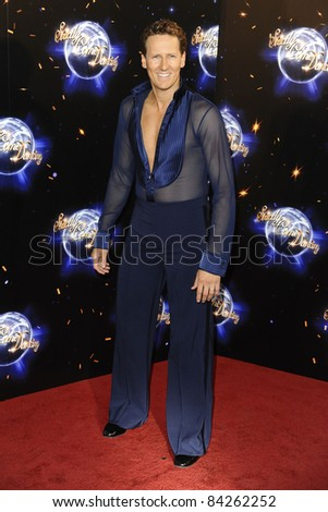 Brendan Cole arriving for the Strictly Come Dancing 2011 launch at BBC TV Centre, London. 07/09/2011 Picture by: Steve Vas / Featureflash - stock photo
