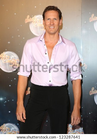 Brendan Cole arriving for the Strictly Come Dancing 2012 Launch, Television Centre, London. 11/09/2012 Picture by: Henry Harris - stock photo