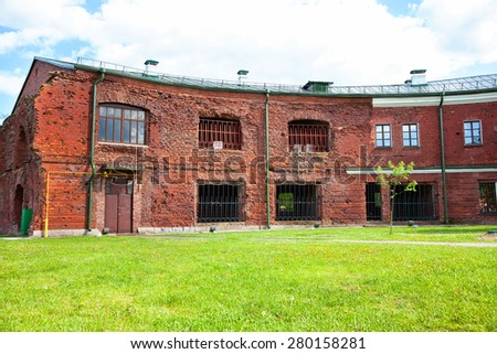 Brest Fortress, Brest, Belarus. In this fortress Soviet troops kept the defense from the Nazis during World War II. - stock photo