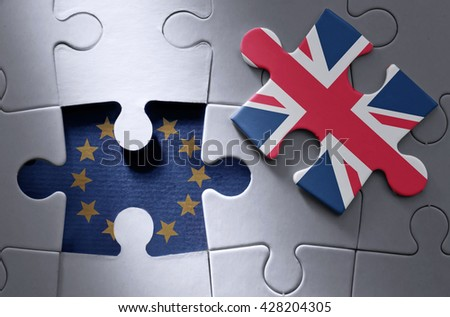 Brexit concept - stock photo