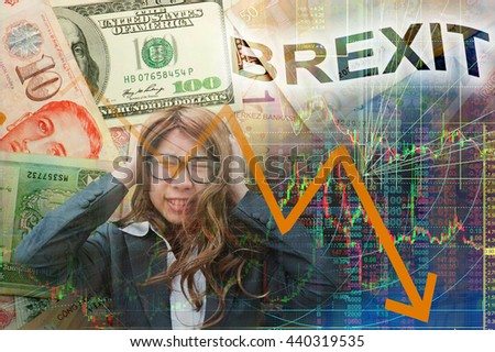 Brexit in stock chart