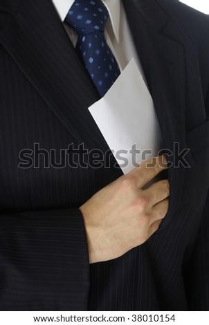 bribe - stock photo