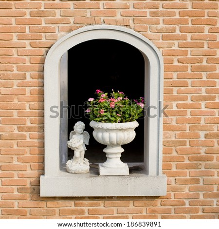 brick arches - stock photo