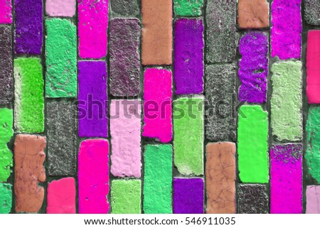 Brick Background Wallpaper Texture Concrete Concept