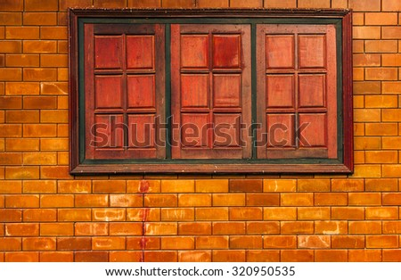 Brick blocks texture wall background
