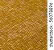 Brick floor pattern - stock photo