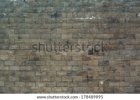 Brick material background for Vintage wallpaper