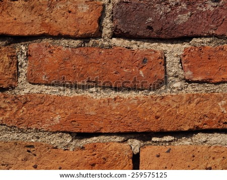 brick/old brick on the wall.