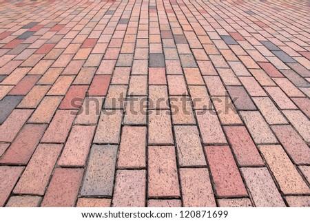 Brick Paver Pattern - stock photo