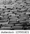brick road 2 - stock photo