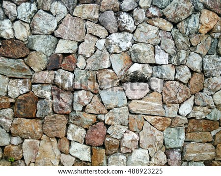 brick rock backdrops stone mixed style