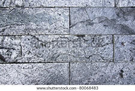 Brick Rock Rock - stock photo